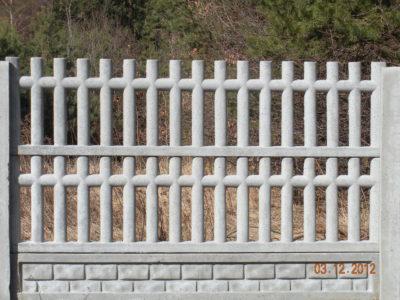 ogrodzenia betonowe 3
